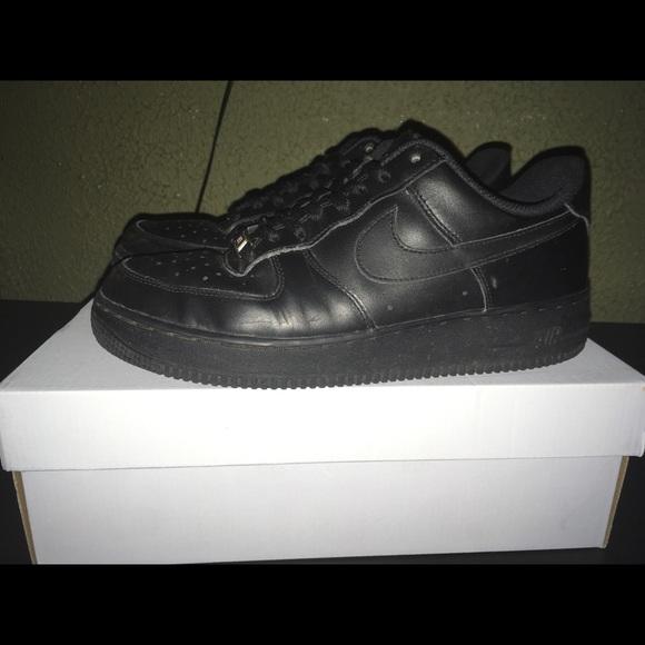 Nike Shoes | Black Air Force 1 | Poshmark